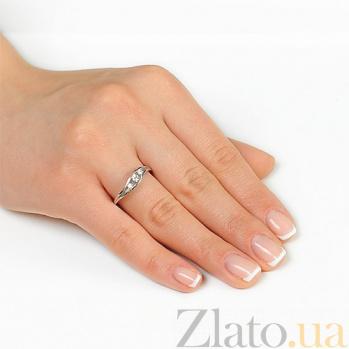 Кольцо из белого золота Светлое чувство EDM--КД7507/1