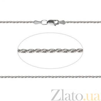 Цепочка серебряная Жгут AQA--802Р-1