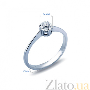 Кольцо с бриллиантом Evelyn AQA--к015бDm
