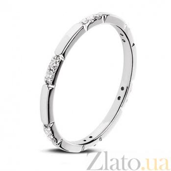 Кольцо из белого золота Холидей 20713