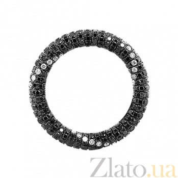 Золотое кольцо с бриллиантами Зевс и Даная 000029607