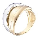 Кольцо Древний Египет в белом и желтом золоте