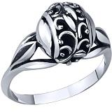 Серебряное кольцо Лунная соната