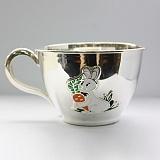 Детская серебряная чашка Зайчик