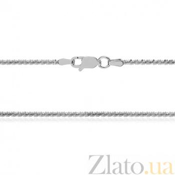 Серебряная цепь Эль Греко с родированием, 50 см 000030856