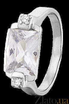 Кольцо из серебра с цирконием Альберта 000025785