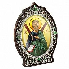 Икона латунная Святой Апостол Андрей Первозванный