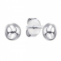 Серебряные серьги-пуссеты 000134721