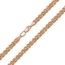 Цепочка из красного золота, 4мм 000126118