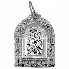 Серебряная ладанка Святая Мадонна