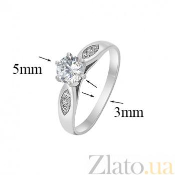 Кольцо из белого золота Мирта SVA--1100811102/Фианит/Цирконий