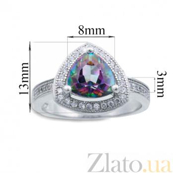 Серебряное кольцо с мистик топазом Таинственность AQA--R00825MT