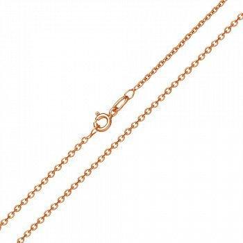 Золотий ланцюг Сантим класичного якірного плетіння, 1мм 000064521