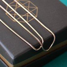Цепочка из красного золота Ориэлла, 1 мм