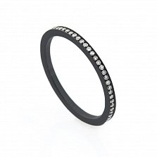 Золотое кольцо Тиана с бриллиантами