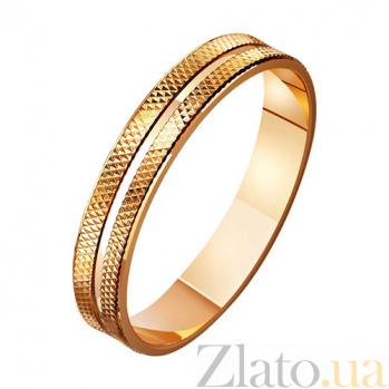 Золотое обручальное кольцо Все для тебя TRF--411053