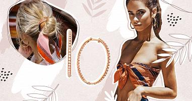 Модні сережки-кільця: від племен Конго до світових подіумів