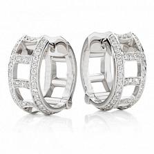 Серьги Argile-F с бриллиантами