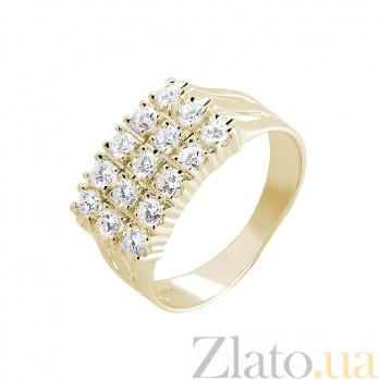 Кольцо в желтом золоте Margo с бриллиантами 000079337
