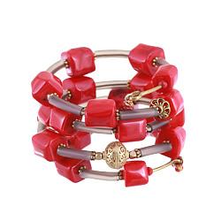 Спиральный браслет Осанна с кораллами 000045770