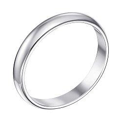 Серебряное обручальное кольцо 000129017