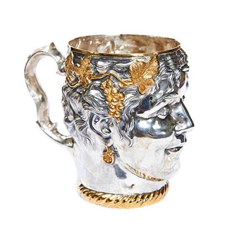 Серебряная кружка Девушка 1455
