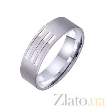 Золотое обручальное кольцо Сlara TRF--421318