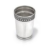 Серебряная стопка Гранд с чернением, 40мл