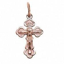 Золотой крестик Сила веры