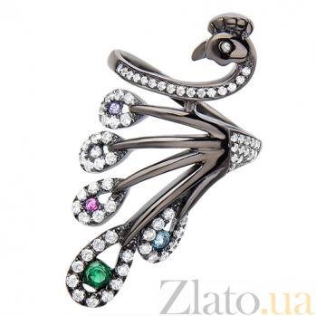 Серебряное кольцо Жар-птица 30335