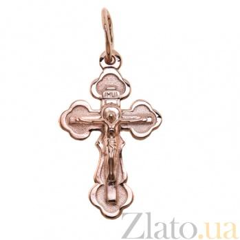 Золотой крестик Сила веры TNG--222009