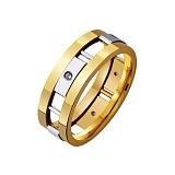 Золотое обручальное кольцо На страже любви
