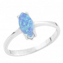 Серебряное кольцо Мелани с опалом