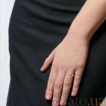 Серебряное кольцо детское с фианитами Веночек AQA--218550021