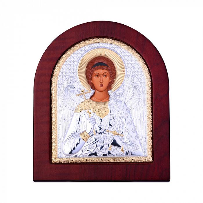 Икона Ангел Хранитель с серебрением 000131706 000131706