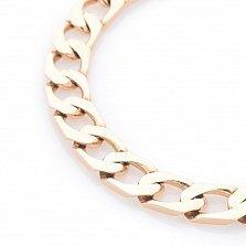 Золотой браслет панцирного плетения Стойкость