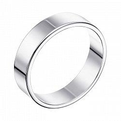 Обручальное кольцо из белого золота 000007897