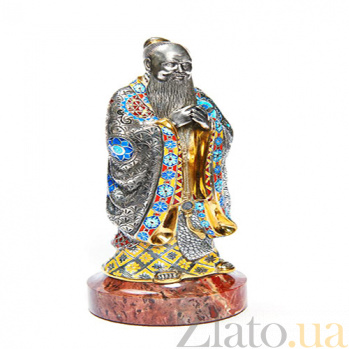 Серебряная статуэтка Конфуций 1517