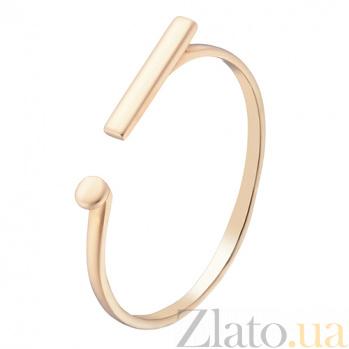Золотое кольцо Восклицательный знак в евро цвете 000032631