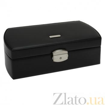 Шкатулка для хранения часов Berlin в черном цвете 3465/8