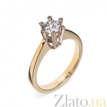 Кольцо в желтом золоте Сюрприз с бриллиантом 000079305