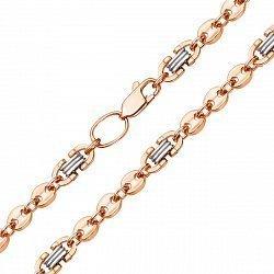 Золотая цепь в комбинированном цвете 000104257