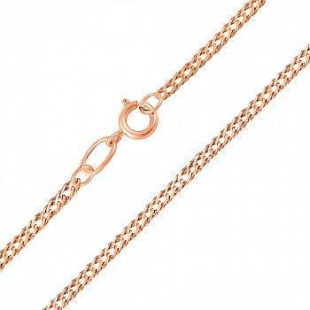 Золотий ланцюжок в червоному кольорі плетіння ромб з алмазною гранню, 2мм 000115627