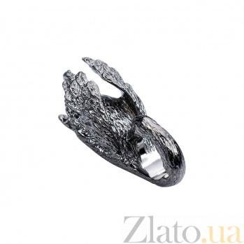 Серебряная бусина Черный лебедь 000027046