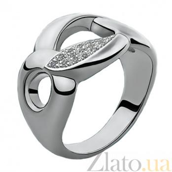 Серебряное кольцо с бриллиантами Дианора 79101599