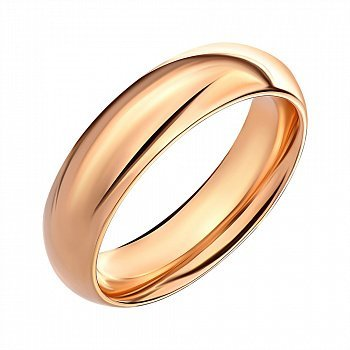 Обручальное кольцо из красного золота 000145409