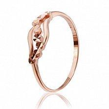 Серебряное кольцо Батиста с позолотой