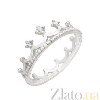 """Серебряное кольцо """"Корона"""" AQA--1349"""