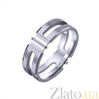 Золотое обручальное кольцо Счастье без границ TRF--421685