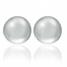 Серебряные серьги Тейя